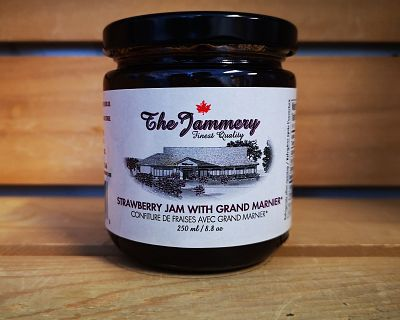 Strawberry Jam with Grand Marnier