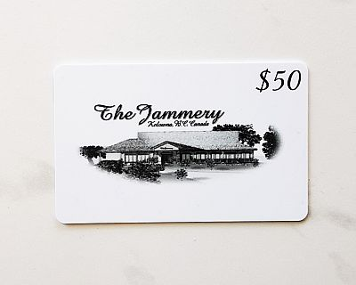 Gift Card $50 - Jammery