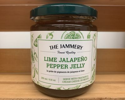 Lime Jalapeno Pepper Jelly