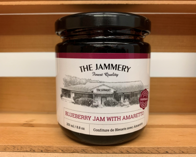 Blueberry Jam with Amaretto
