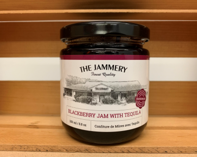 Blackberry Jam with Tequila