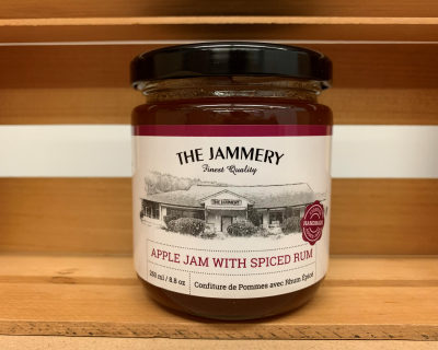 Apple Jam with Spiced Rum